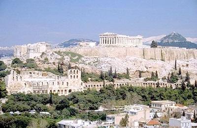Столицата Атина