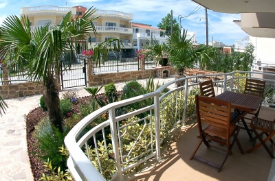 ����������� ����� �������� ������, Accomodation Bellevue, Keramoti, Greece