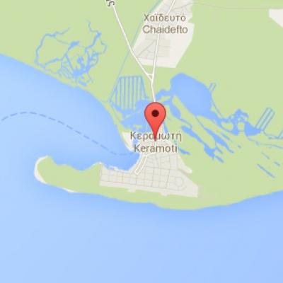 Местоположение на Керамоти